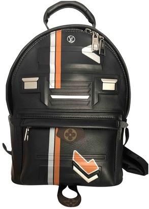 Louis Vuitton Black Leather Bag