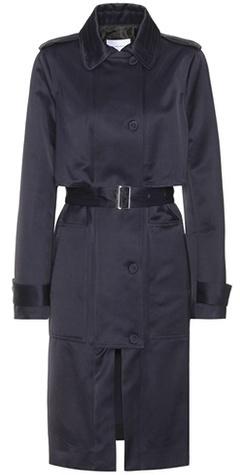 CarvenCarven Satin trench coat