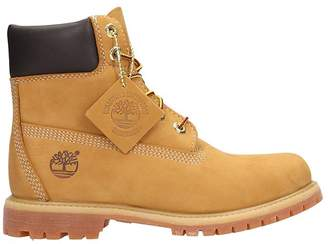 Timberland Classic Premium Wheat Nubuck Leather Boots