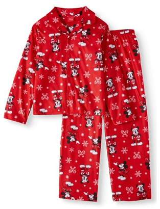 MICKEY MOUSE Boys 2 Piece Coat Pajama Set