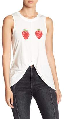 Knit Riot Front Tie Tank Top