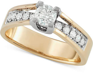 Macy's Diamond Engagement Ring (3/4 ct. t.w.) in 14k Gold