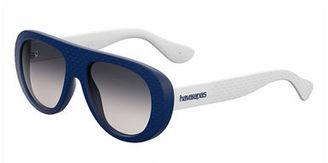 Havaianas Rubber Gradient Wrap Sunglasses $68 thestylecure.com