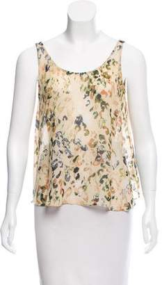 Rory Beca Silk Abstract Top