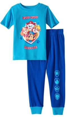 Paw Patrol Baby Toddler Boys' Short Sleeve Tight Fit Pajamas, 2pc Set