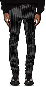 RtA Men's Pinstriped Slim Jeans - Wht.&blk.
