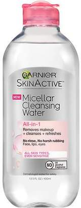 Garnier SkinActive Micellar Cleansing Water All-in-1 Cleanser + Makeup Remover $8.79 thestylecure.com