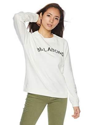 Billabong (ビラボン) - [ビラボン] [レディース] 丸首 スウェット (プリント)[ AI014-012 / SWEAT CREW ] トレーナー かわいい GRH_グレー US L (日本サイズL相当)
