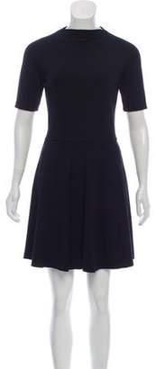 Reformation Short Sleeve A-Line Dress