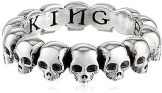 King Baby Studio Skull Infinity Ring