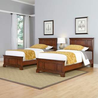 Home Styles 3-piece Chesapeake Twin Bed Frames and Night Stand Set