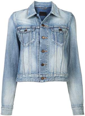 Saint Laurent classic fitted denim jacket