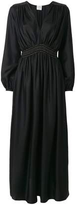 Forte Forte smocked waist maxi dress