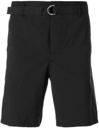 Prada belted bermuda shorts