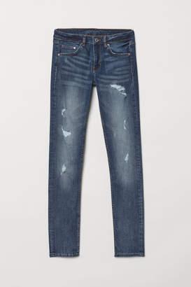 H&M Skinny Low Jeans - Blue