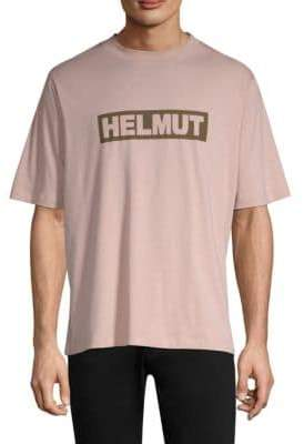 Helmut Lang Logo Cotton Tall Tee