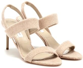 Max Mara Paula 2 cashmere sandals