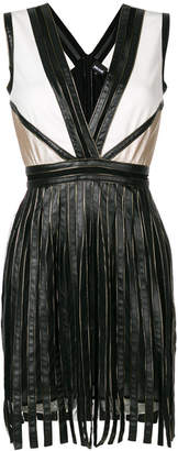 Just Cavalli fitted V-neck dress