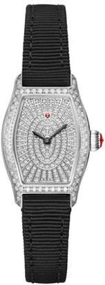 Michele Croquette Diamond Pave Watch