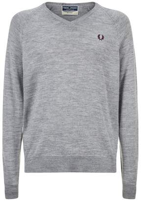 Fred Perry V-Neck Sweater