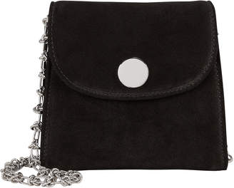 Little Liffner Box Suede Shoulder Bag