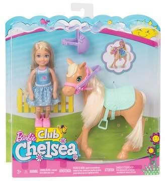 Mattel Inc. Barbie® Club Chelsea Doll & Horse Set