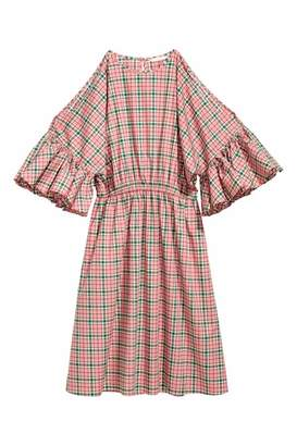 H&M Cotton Dress - Pink/plaid - Women