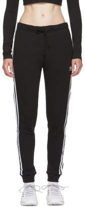 adidas Black French Terry Lounge Pants