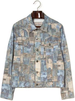 Casely-Hayford パッチワークデザイン デニムジャケット デニムパッチワーク 36