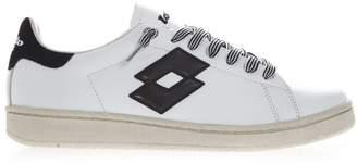 Lotto Leggenda Autograph W White Leather & Suede Sneakers