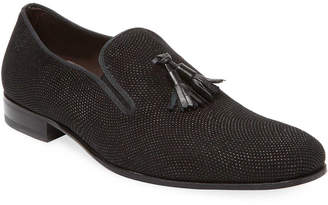 Mezlan Solid Tassel Loafer