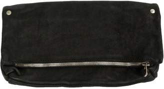 Guidi zip clutch bag