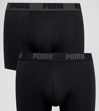 Puma 2 Pack Boxers In Black 521015001230