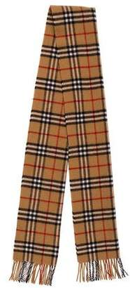 Burberry House Check Wool Scarf