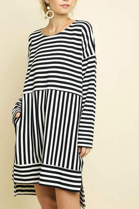 Umgee USA Black & White Striped