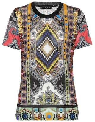 Etro Paisley printed T-shirt