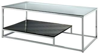 HOMES: Inside + Out Tressie Coffee Table Black/Chrome - ioHOMES