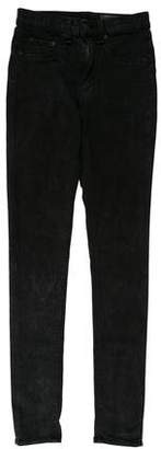 Rag & Bone Light Acid Wash Mid-Rise Pant