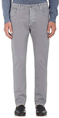 Isaia Men's Slim Straight Jeans - Light Gray