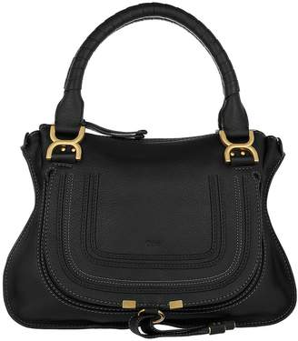 Chloé Marcie Medium Shoulder Bag Black