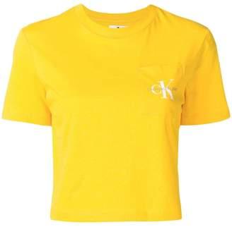 Calvin Klein Jeans cropped T-shirt