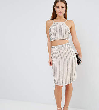 True Decadence Petite Embellished Midi Skirt Co-Ord