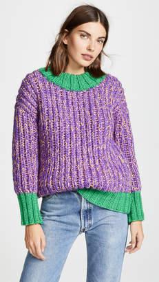 Tucker Novis Hand Knit Boyfriend Sweater