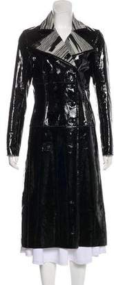 Missoni Patent Leather Coat