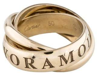 Cartier Or Amour Et Trinity Ring