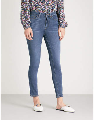 Paige Hoxton Crop skinny high-rise jeans