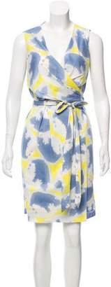 Diane von Furstenberg Sleeveless Wrap Dress