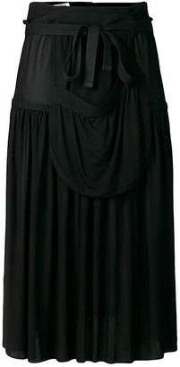 J.W.Anderson Pleated Jersey Midi Skirt
