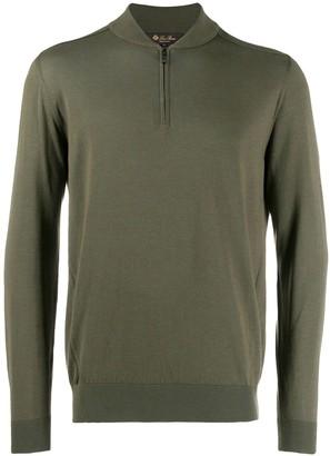 Loro Piana zip up sweatshirt