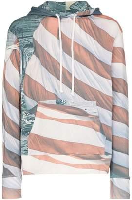 2b89b05a7a85a8 424 American Flag Cotton Hoodie. Farfetch ...